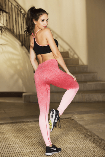 Pink Run Forever Work Out Pants