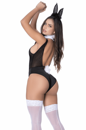 Play With Me Bunny Lingerie Costume