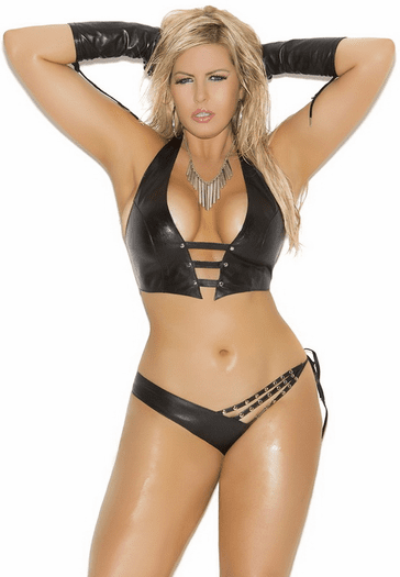 Plus Size Beyond Dark Cami Set