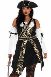 Plus Size Black Sea Costume