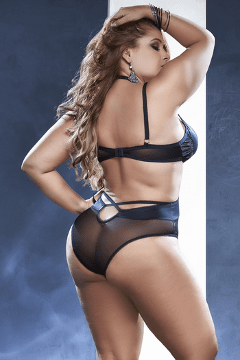Plus Size Break Up To Make UP Teddy