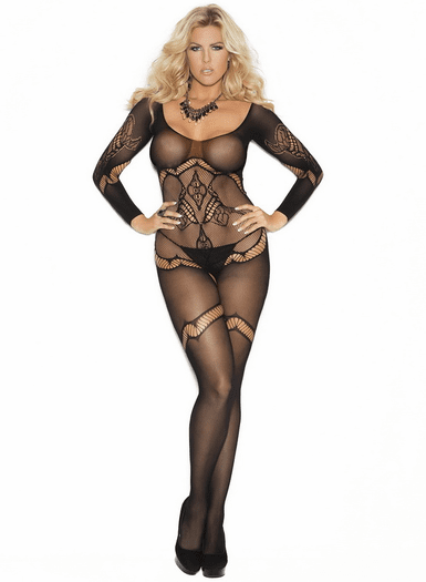 Plus Size Eternal Love Bodystocking