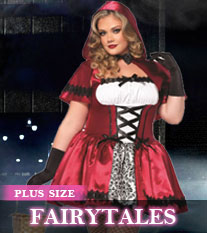 Plus Size Fairytale Costumes