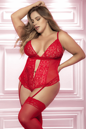 Plus Size Heart Stopping Lover Teddy