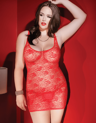 Plus Size I'll Tease You Back Dress