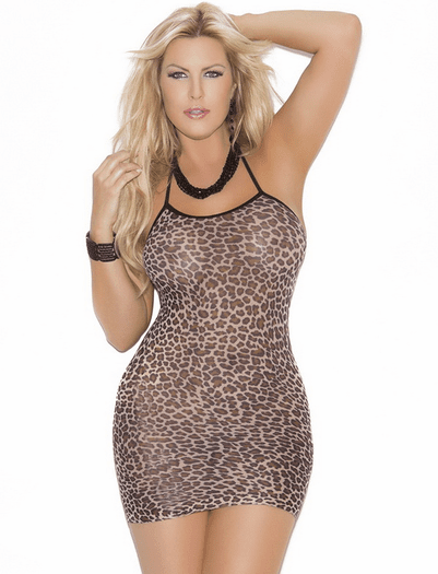 Plus Size Jungle Love Chemise