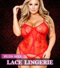 Plus Size Lace Lingerie