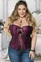 Plus Size Naughty In The Bedroom Corset