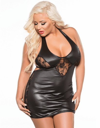 Plus Size Naughty Moments Chemise