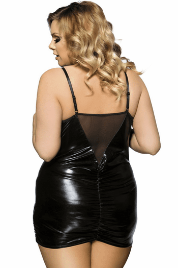Plus Size Naughty Nights Open Bust Chemise