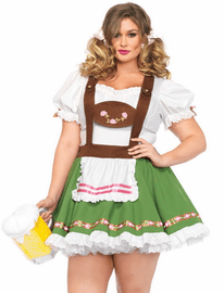Plus Size Oktoberberfest Sexy Beer Girl Costume