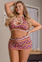 Plus Size Pride Halter & Skirt Set