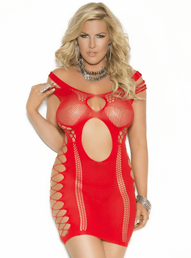 Plus Size Scandalous Seduction Chemise