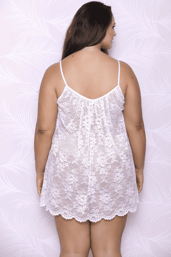 Plus Size Soon To Be Chemise