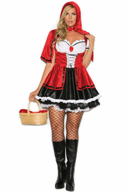 Plus Size Storybook Red Sexy Costume