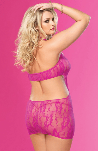 Plus Size Take Me I'm Yours Sexy Chemise