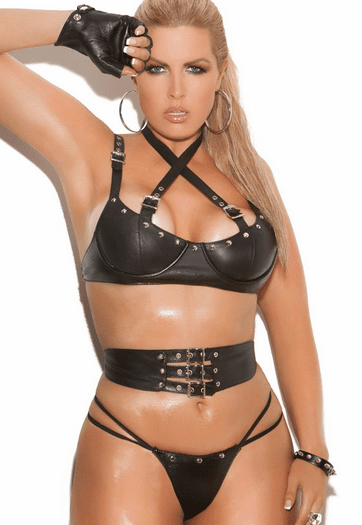 Plus Size Whip Me Well Sexy Set