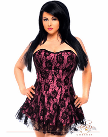 Plus Size Your Sexy Lover Lace Corset Dress