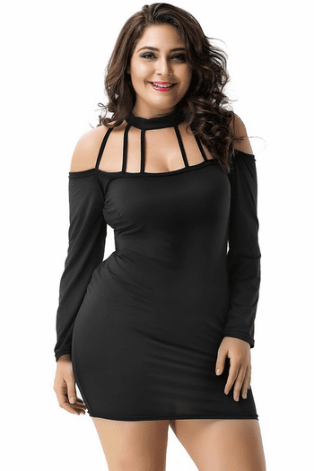 Plus Size Yours If You Want Bodycon Dress