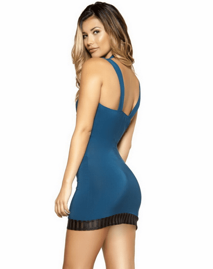 Pop Star Pretty Cutout Mini Dress