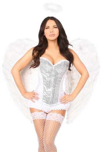 Precious Angel Corset Costume