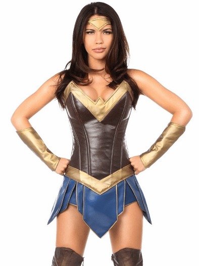 Premium Warrior Wonder Woman Costume