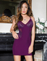Pretty In Plum Chemise