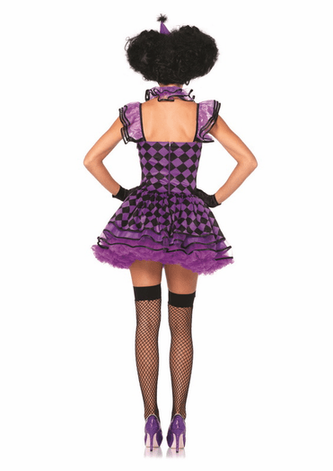 Pretty Parisian Clown Sexy Costume