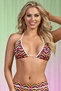 Pride Triangle Bra Top