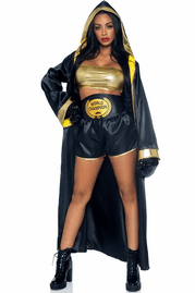 Prize Fighter Boxer Halloween Costume