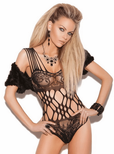 Provocative Lace Teddy