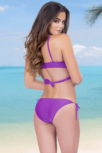 Purple Bikini Set