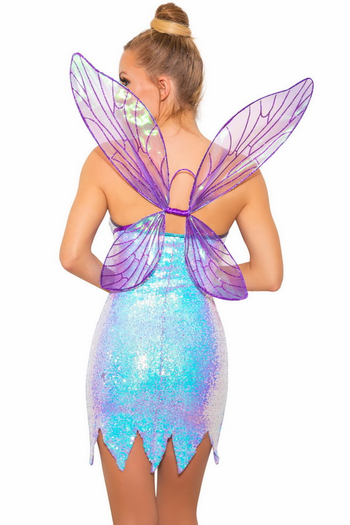Purple Twinkle Fairy Dust Costume