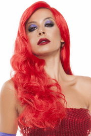 Red Hot Rabbit Wig