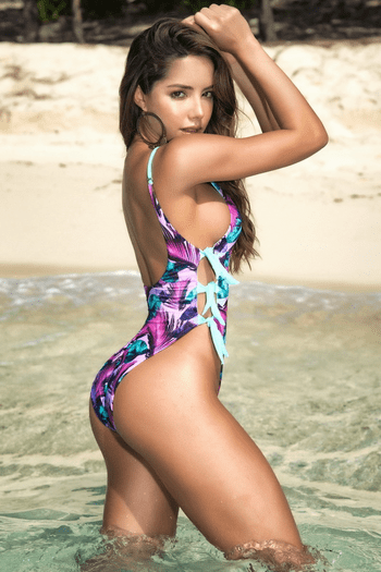 Reversible One Piece Swimsuit