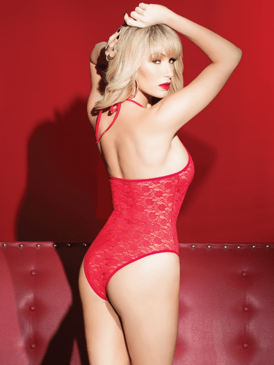 Ring The Alarm Lace Teddy