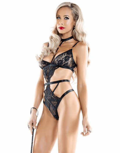 Romantic & Naughty Lace Teddy