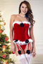 Santa's Helper Corset & G-String Set