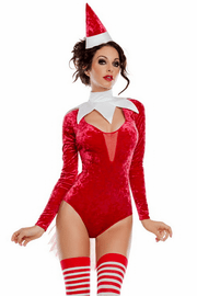 Santa's Shelf Helper Costume