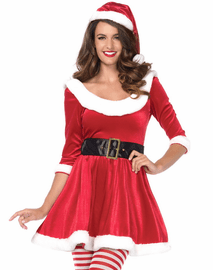Santa Sweetie Holiday Costume