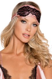 Satin and Lace Sleep Eye Mask