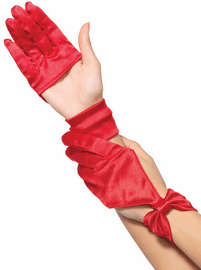 Satin Seduction Gloves