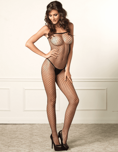 Tanya's Seamless Open Crotch Bodystocking