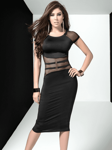 Secret Fantasy Bodycon Dress