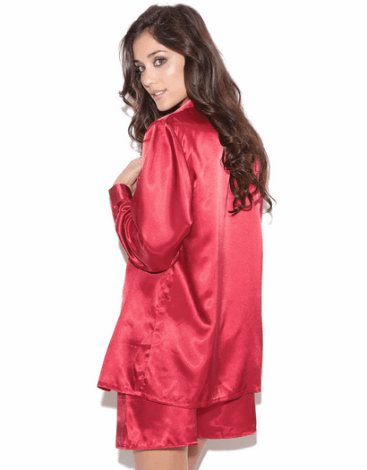 Seductive Satin Sleep Shirt