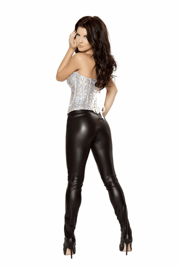 Sequin Lover Lace Up Corset
