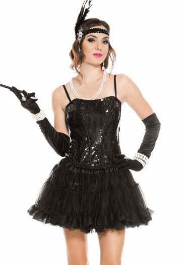 Sequined Seduction Corset