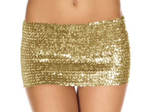 Sequined Sexy Skirt