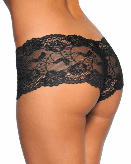 Sexy Banded Lace Short