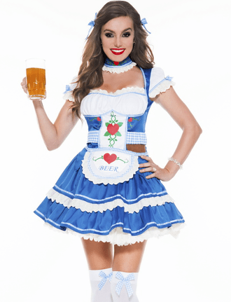 Sexy Beer Babe Costume